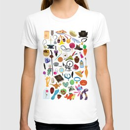 56 Pieces of Animation T-shirt