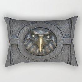Enter if you dare Rectangular Pillow