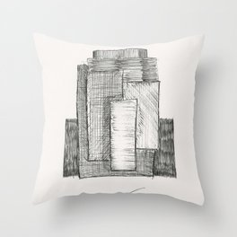 RBS 6 Nations by Tade Garben Throw Pillow