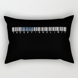the sky is no limit Rectangular Pillow