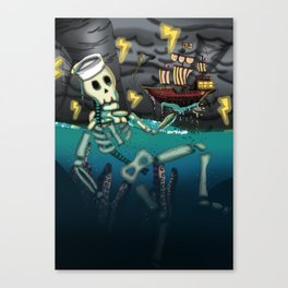 Guardian of Water Canvas Print