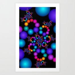 fractal geometry -122- Art Print