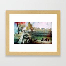 Paris in the Spring Time 2 Framed Art Print