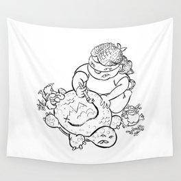 Ninja Master of Planning Wall Tapestry