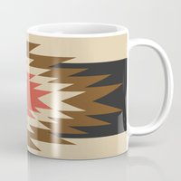 aztec Mugs featuring Aztec 1 by Aztec
