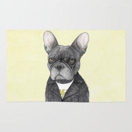 Hard Rock French Bulldog Rug
