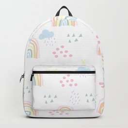 Rainbow kid feelings Backpack
