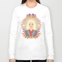 heymonster Long Sleeve T-shirts featuring Leslie Knope by heymonster
