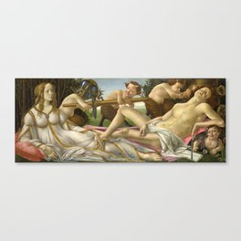 Sandro Botticelli - Venus and Mars Canvas Print