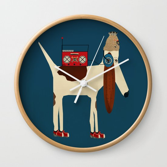 bootleg beagle  Wall Clock