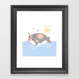 Fatwharl Framed Art Print