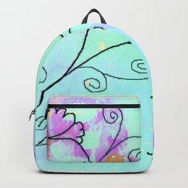 Flower on vine Backpack