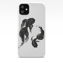 Koi fishes iPhone Case