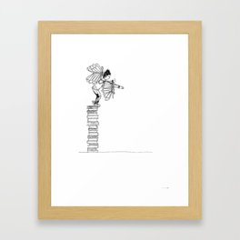 Trying To Fly Framed Art Print