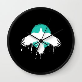chloe price Wall Clock