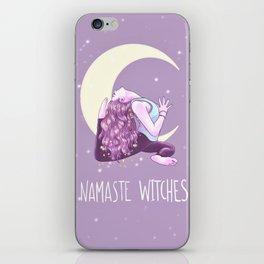 Namaste Witches, Mermaid Yogini, Yoga, Weronika Salach iPhone Skin