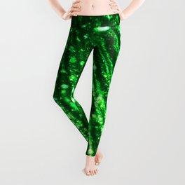 Seaweed Green Triton´s Secrets  Leggings
