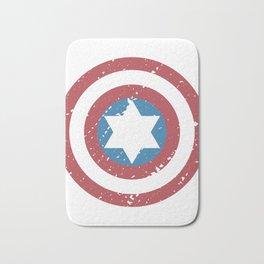 America captain revenge shield icon movie gift Bath Mat