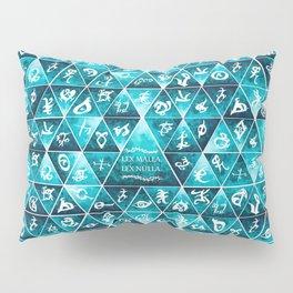 Blackthorn Family Motto Mosaic Pillow Sham