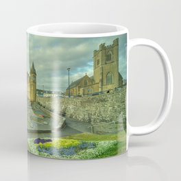 Aberystwyth Church and sky Coffee Mug