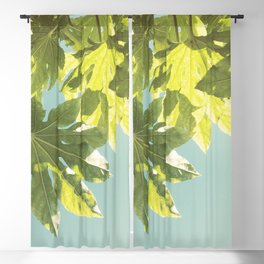 Fig Leaves Blackout Curtain