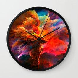 Mákis Wall Clock