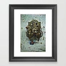 Edgard's Clock House Framed Art Print