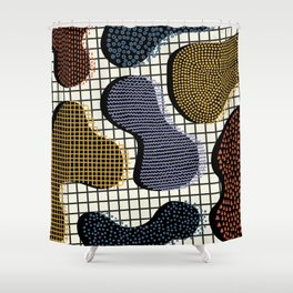 Colorful Notebook III Shower Curtain