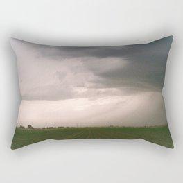 Rolling Storm Rectangular Pillow