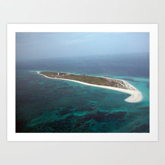 Hospital Key, Dry Tortugas Florida   Art Print