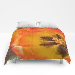 tulipe de près Comforters