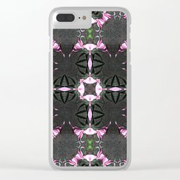 "PATTERN ""LILY STARGAZER"" Clear iPhone Case"