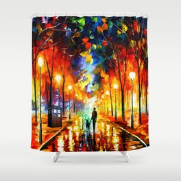 Tardis Art Watching Shower Curtain
