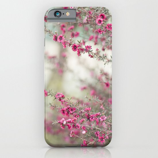 pink flowers  iPhone & iPod Case