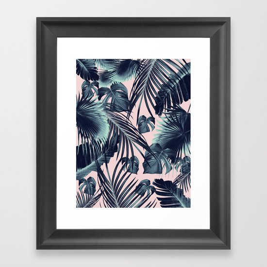 Tropical Jungle Leaves Dream #2 #tropical #decor #art #society6 by anitabellajantz