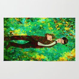 11th Doctor abstract art Rug
