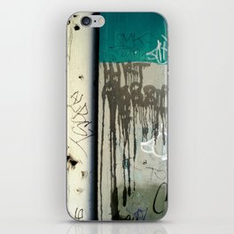 Once upon a wall iPhone Skin