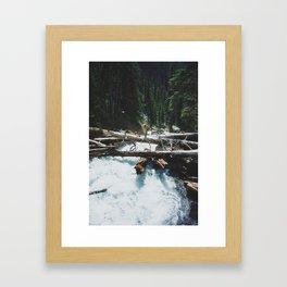 joffre lakes (9) Framed Art Print