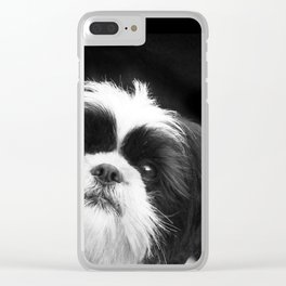 Shih Tzu Dog Clear iPhone Case