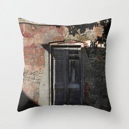 Bridgetown Doorway Throw Pillow