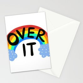 Rainbow Over It Design by Jelene Stationery Cards