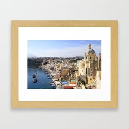 Hydrofoil to happiness Framed Art Print