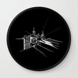 Vibrant city 7 Wall Clock