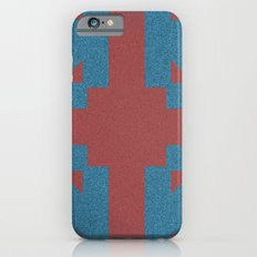 Blue & Red Noises Slim Case iPhone 6s