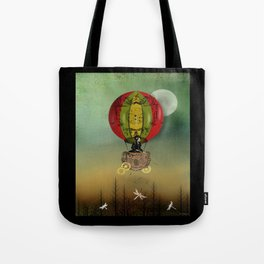 Winds of Change Steampunk Art Tote Bag
