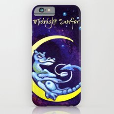 Midnight Surfer Poster iPhone 6s Slim Case