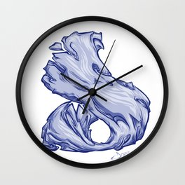 The Letter D is Dope!  Wall Clock