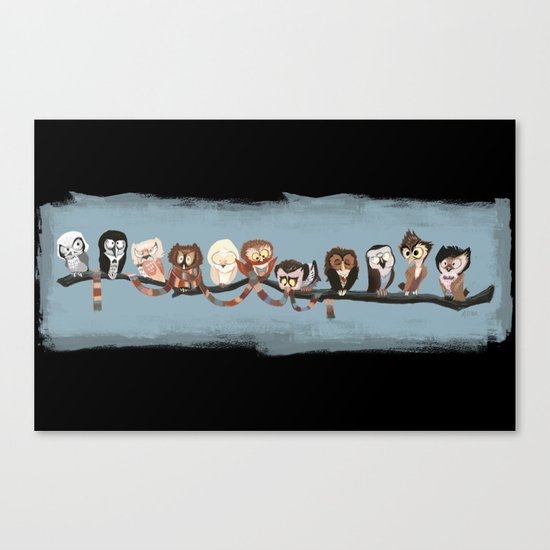 Doctor Hoo - Painted Version Canvas Print
