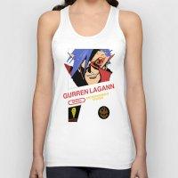 gurren lagann Tank Tops featuring NES Gurren Lagann by IF ONLY