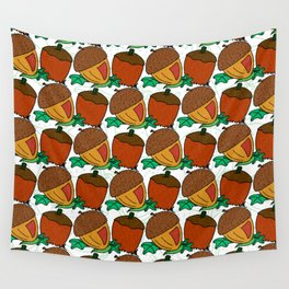 Acorns Wall Tapestry